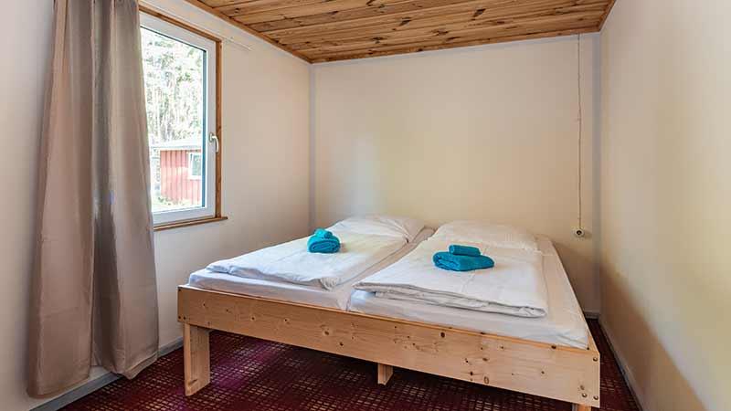 Bungalow Schlafzimmer Hinter der Düne Ückeritz Usedom