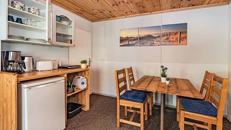 Bungalow Küchenbereich Hinter der Düne Ückeritz Usedom