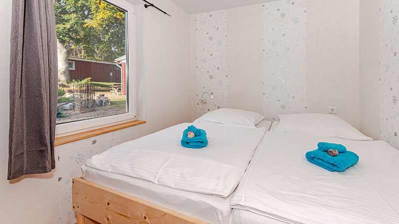 Ferienhaus Dünenblick 3 Schlafzimmer Hinter der Düne Ückeritz Usedom Doppelbett