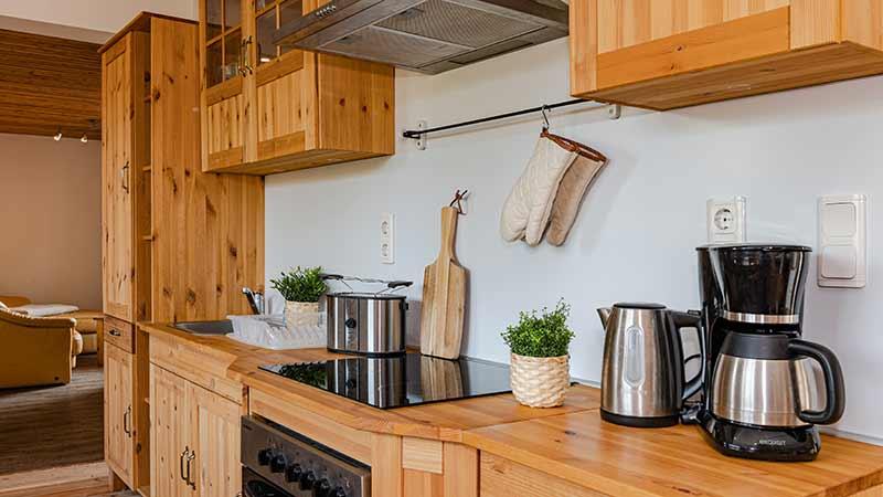 Ferienhaus Dünenblick 3 Küchenzeile Hinter der Düne Ückeritz Usedom