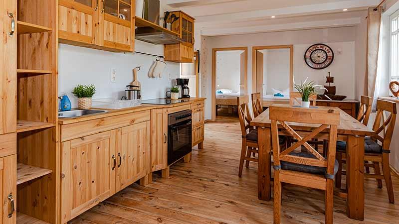 Ferienhaus Dünenblick 3 Essbereich Hinter der Düne Ückeritz Usedom Küche