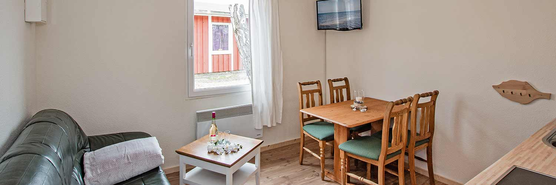 Ferienwohnung Schloonsee Wohnzimmer Hinter der Düne Ückeritz Usedom Strand