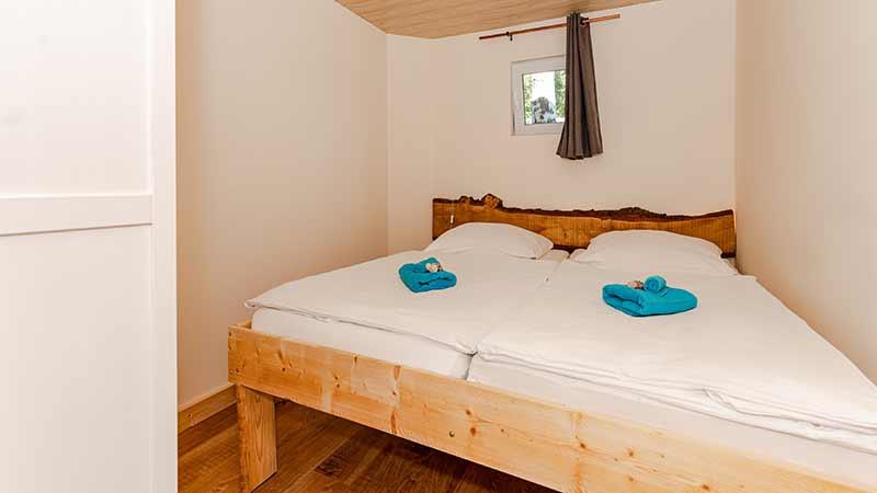 Ferienwohnung Seebär Schlafbereich Hinter der Düne Ückeritz Usedom