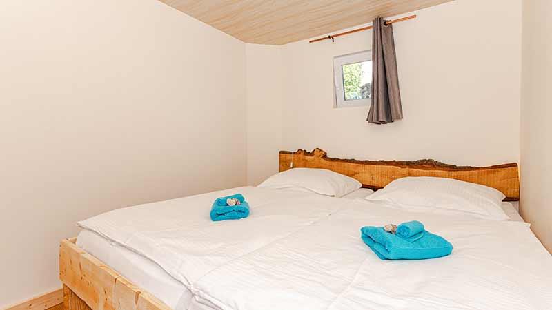 Ferienwohnung Seebär Schlafzimmer Hinter der Düne Ückeritz Usedom