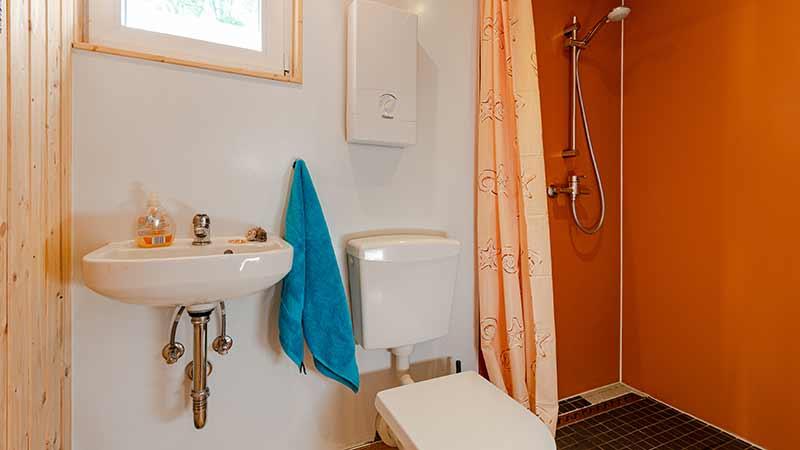 Ferienwohnung Seebär Badezimmer Hinter der Düne Ückeritz Usedom