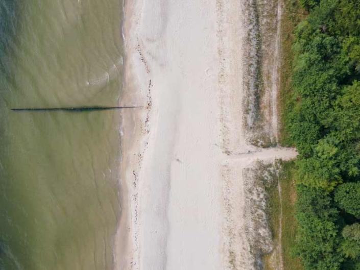 Strandaufgang Strandabschnitt Ückeritz Hinter der Düne Ückeritz Usedom