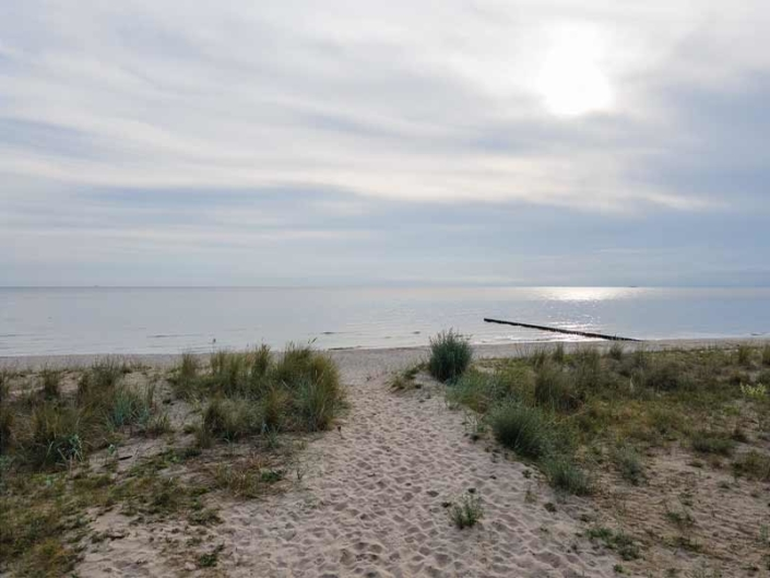 Hinter der Düne Ückeritz Usedom Strand Urlaubsfeeling