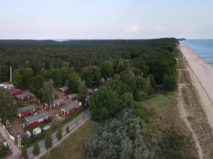 Hinter der Düne Ückeritz Usedom Strand Ferienanlage