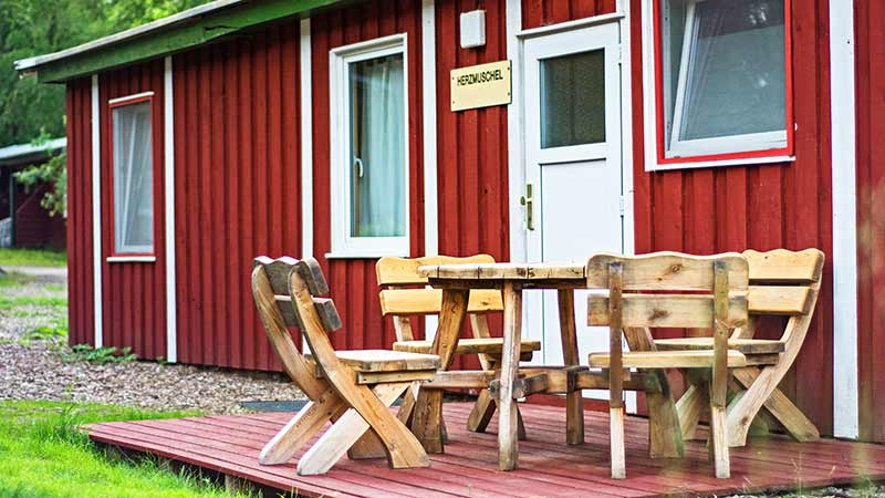 Ferienhaus Herzmuschel Außenbereich Hinter der Düne Ückeritz Usedom