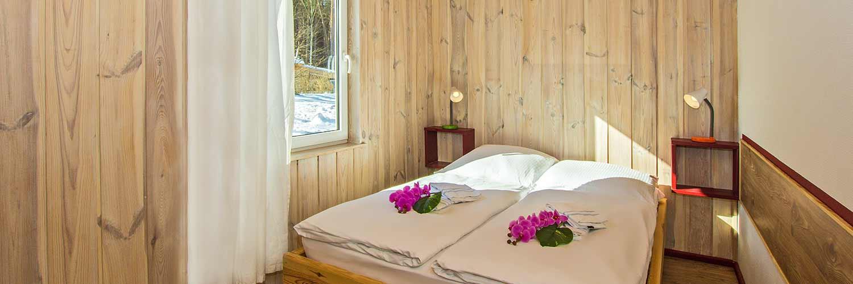 Ferienhaus Herzmuschel Schlafzimmer Hinter der Düne Ückeritz Usedom