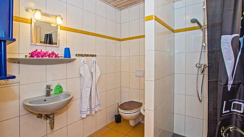 Ferienhaus Herzmuschel Badezimmer Hinter der Düne Ückeritz Usedom