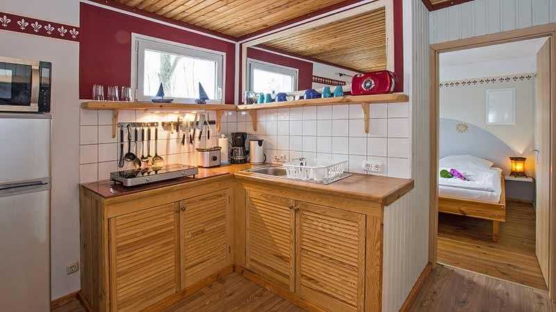 Ferienwohnung Ostseeperle Küche Hinter der Düne Ückeritz Usedom