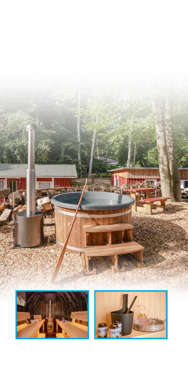 Wellnessurlaub Feriensiedlung Hinter der Düne Urlaub Insel Usedom Seebad Ückeritz